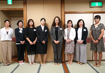 京都府電気工事工業組合 女性部会